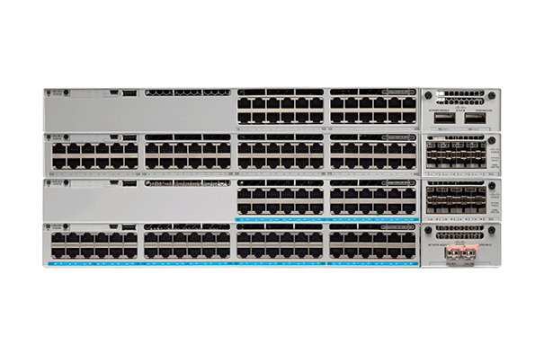 Cisco C9300-48S-E Catalyst 9300 48 GE SFP Ports, modular uplink Switch